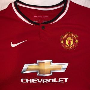 Manchester United Home Jersey Boys 2014